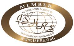 Member of International Society of Hair Restoration Surgery